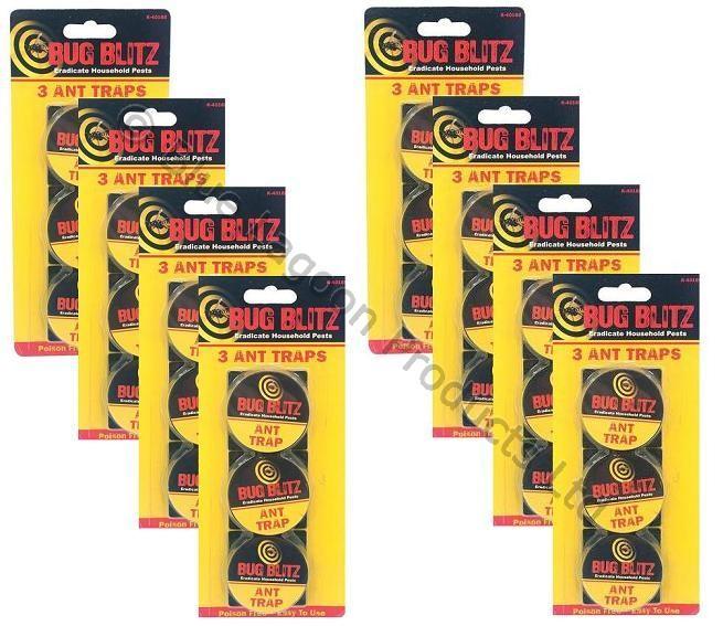 Pack de 24 pi ges pour tuer les fourmis gel attirant anti - Tuer les fourmis ...