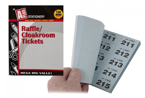 raffle ticket numbering