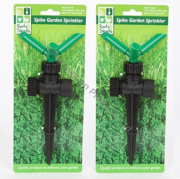 Sprinkler With Spike Hose Pipe Water Garden 1 Bsp In Line Irrigation System Ebay