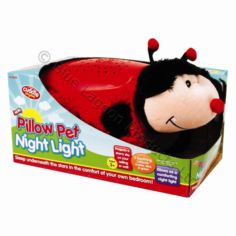 Dream Lites Kids Toy Teddy Cuddle Night Light Animal