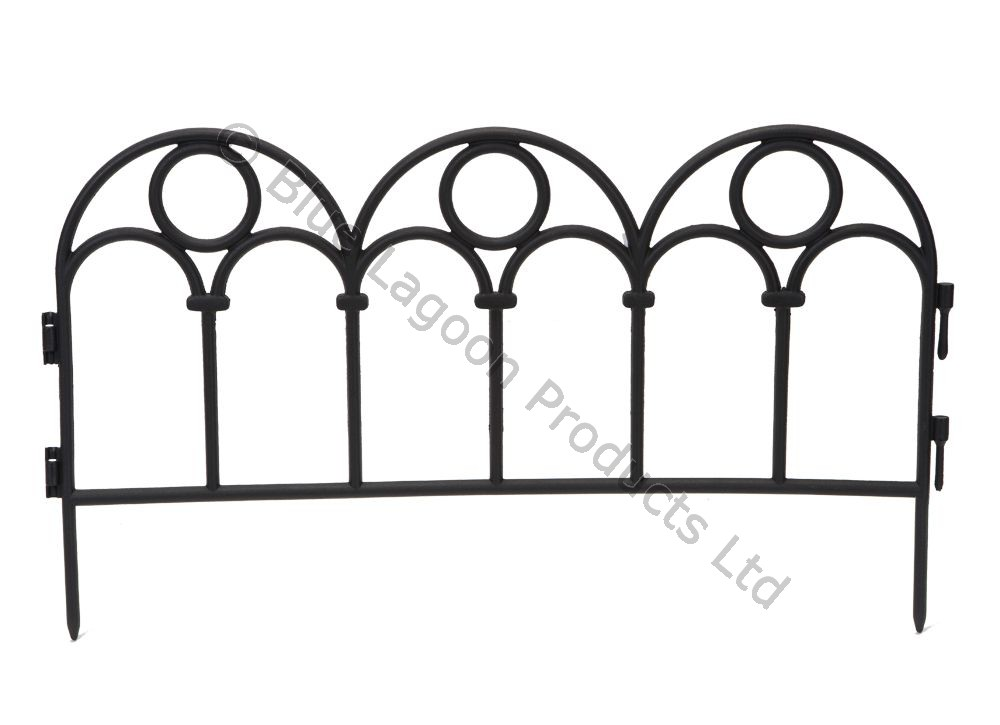 Flexible Plastic Garden Border Fence Lawn Grass Edge Path Edging
