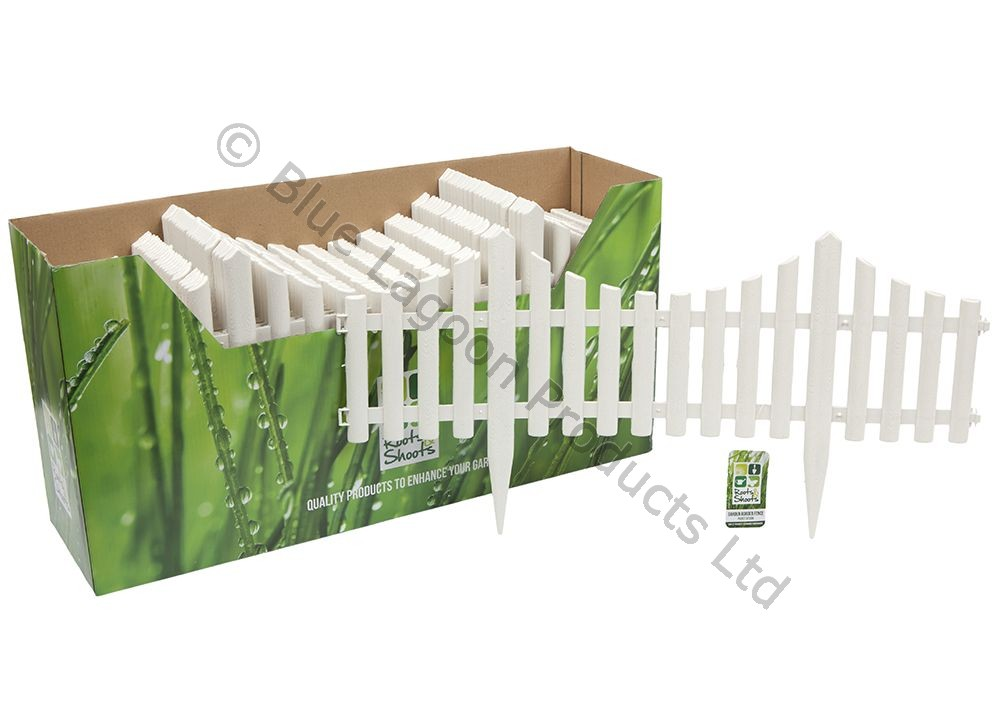 Plastic Garden Border Fence Edging