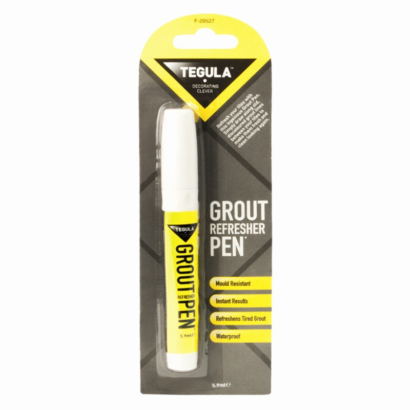 Grout whitener refresher pen instant kitchen shower for Bathroom tile cleaner products