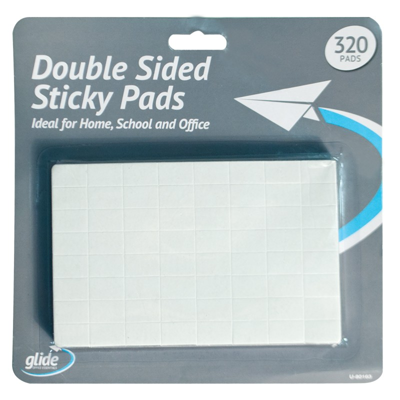 320 Double Sided Foam Adhesive Sticky Pads Squares