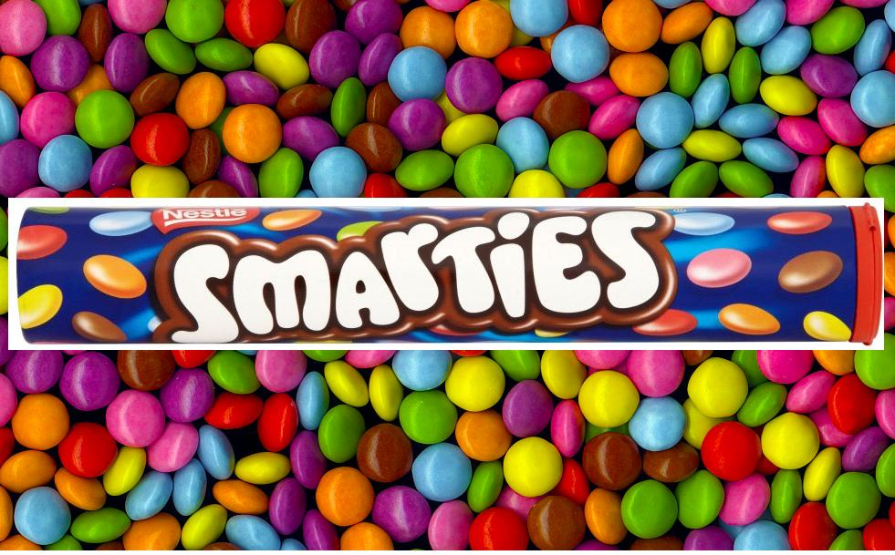 Nestle 150g Smarties Tube Sealed Official British Sweets ...