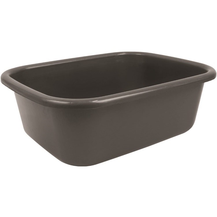 ... Rectangular Plastic Washing Up Bowl Kitchen Basin Sink Grey eBay