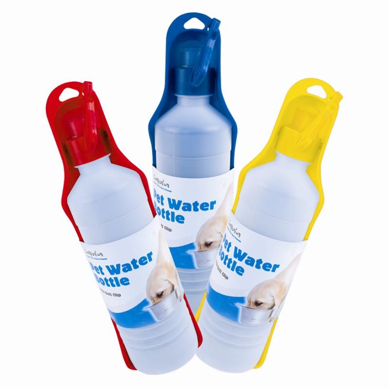 Portable Pet Travel Water Bowl Bottle Dispenser Feeder Cat: Travel Pet Water Bottle Portable Drinking Bowl Pet Care
