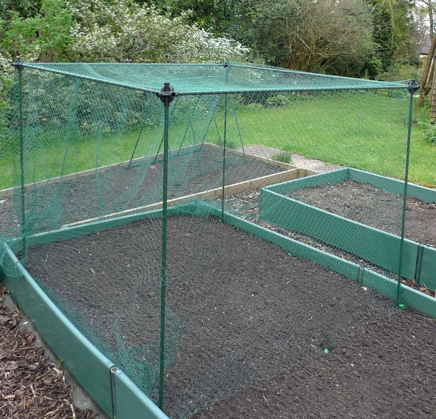 20mm 4x 6m Garden Netting Bird Fish Pond Protection Plant Cover Flower Fruit Net Ebay