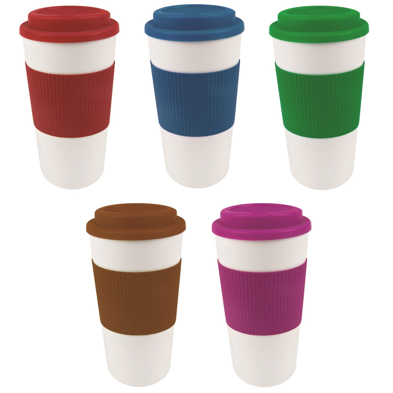 450ml 16oz Thermal Insulated Double Wall Cup Tea Coffee