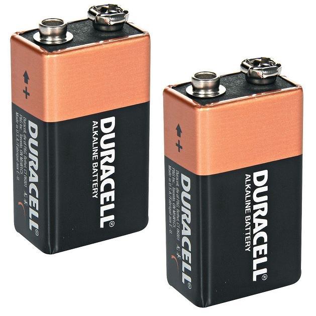2 x duracell 9v pp3 heavy duty block alarm mn1604 battery batteries alkaline ebay. Black Bedroom Furniture Sets. Home Design Ideas