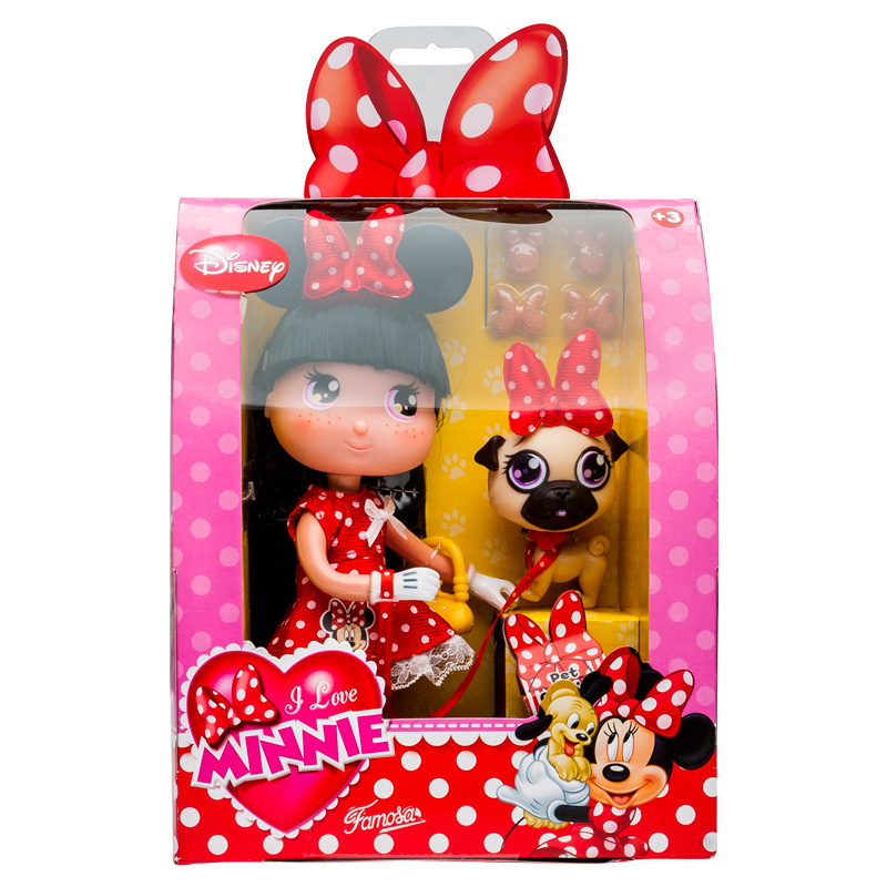 Minnie Mouse Toys For Toddlers : Kids girls disney i love minnie collectable mouse