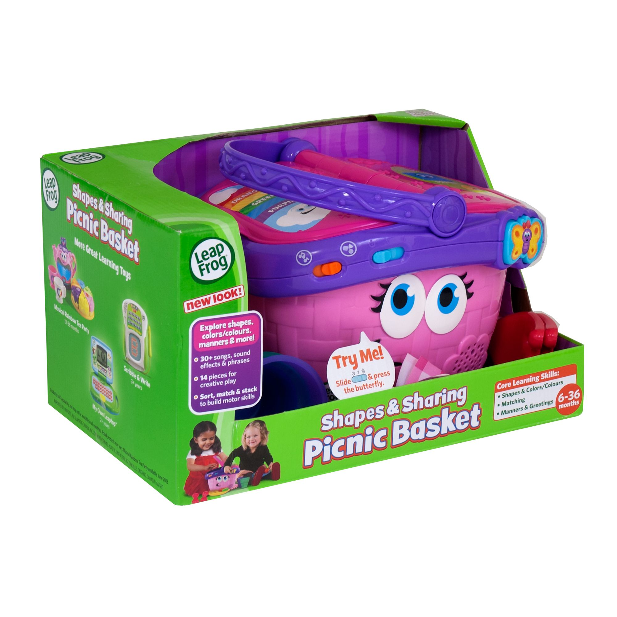 Toy Picnic Basket : New leapfrog shapes and sharing picnic basket kids