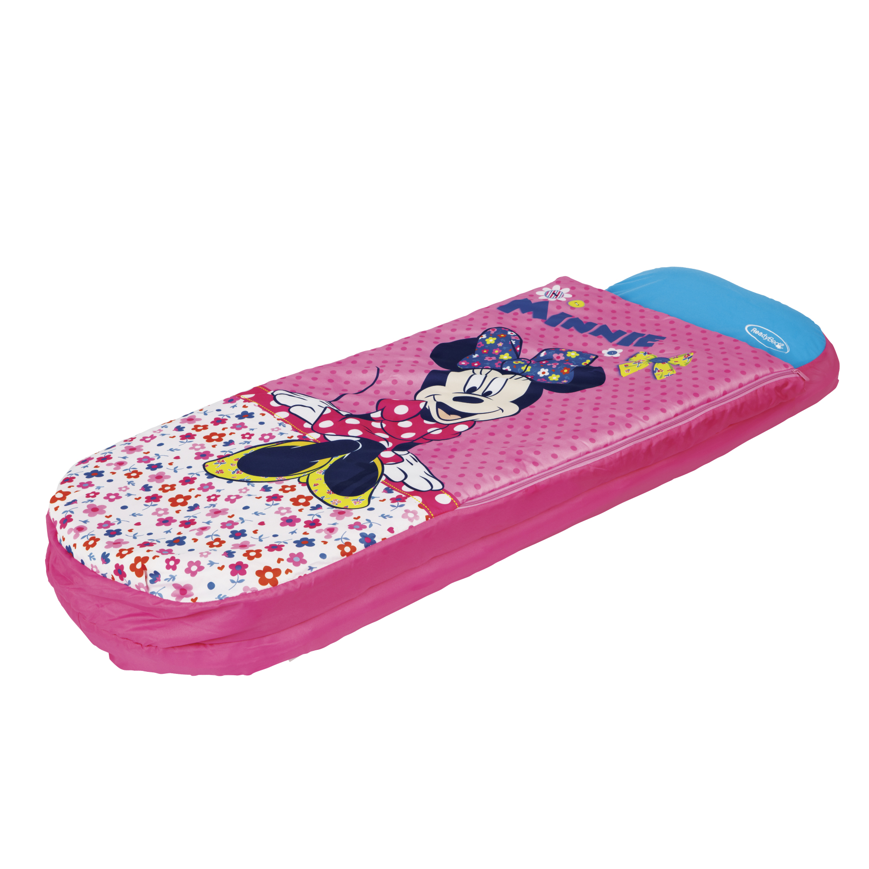 Inflatable bed for kids - Brand New Worlds Apart Childrens Junior Ready Portable