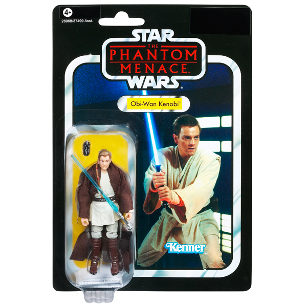 The Phantom Menace Toys : New hasbro star wars the phantom menace obi wan kenobi