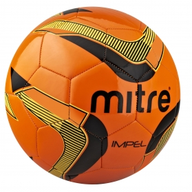 Brand-New-2013-Football-Mitre-Impel-Training-Football-Ball-Orange-Size-3-5