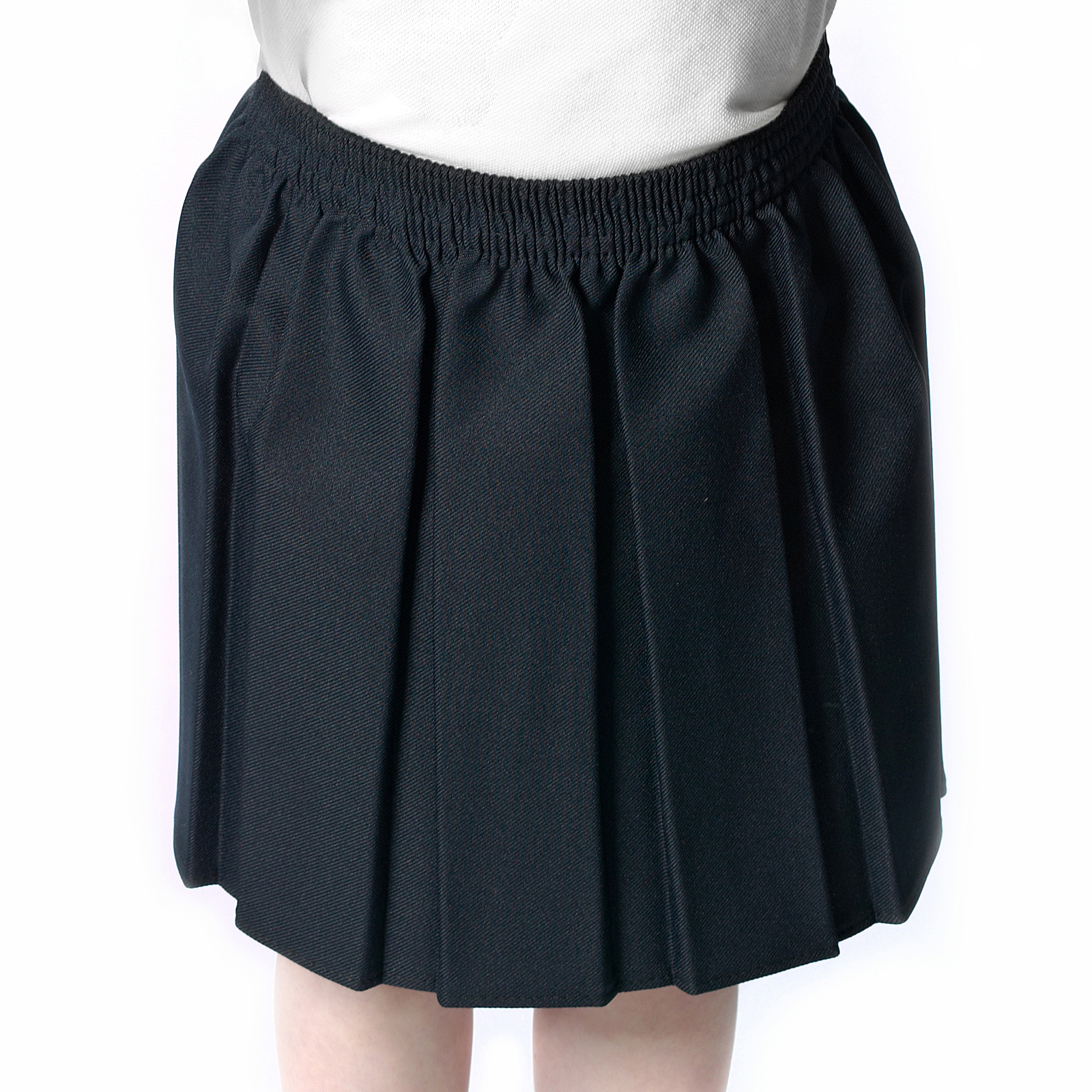 Box Pleat School Skirt - Skirts