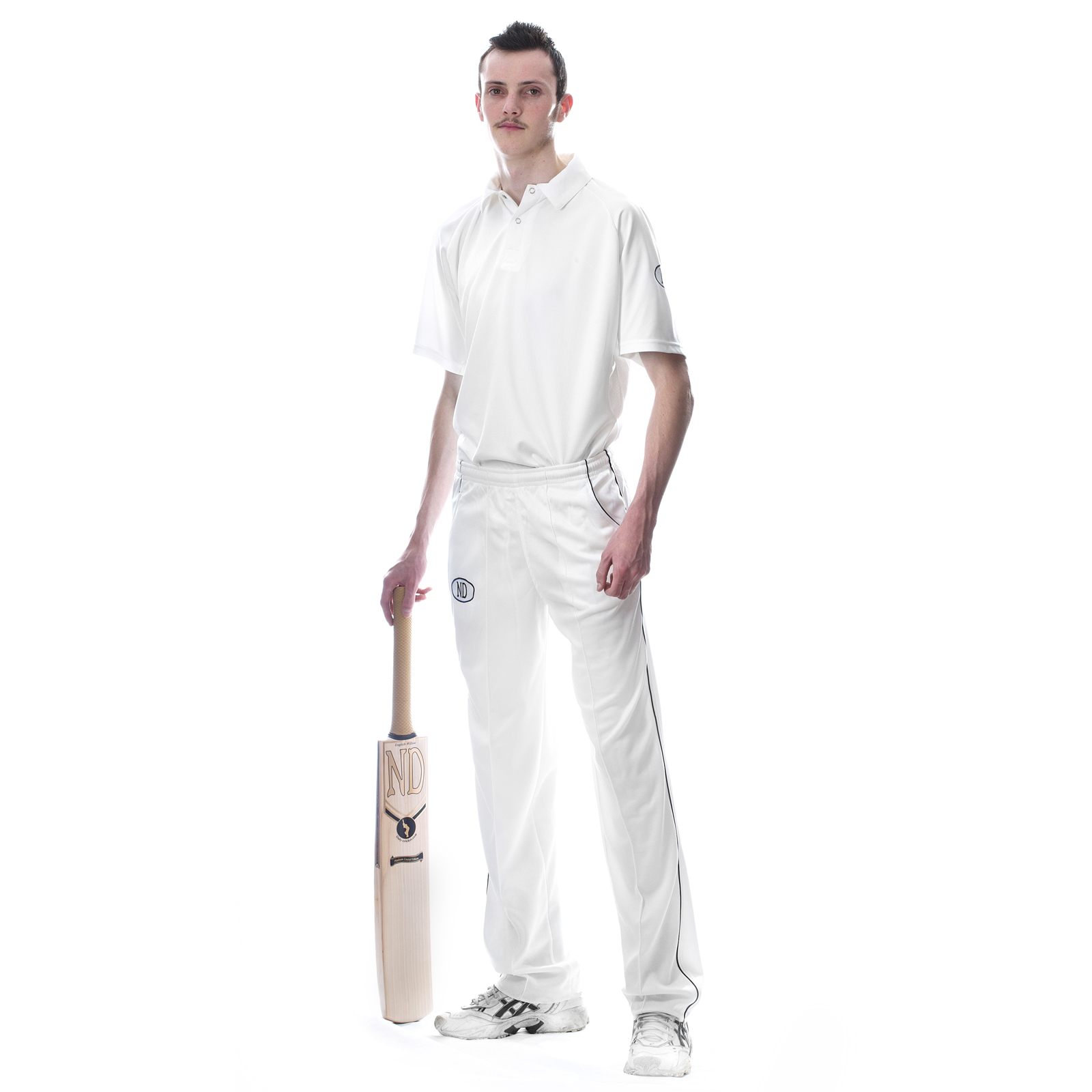 New 2015 Cricket Kit Players Outfit Whites Shirt Trousers Combo Size 2xsb Xl Ebay