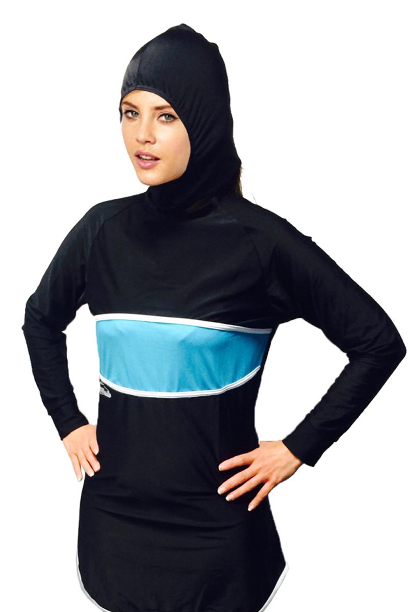 Al Nafees Modesty Full Cover Girls Muslim Swimsuit Islamic Kids