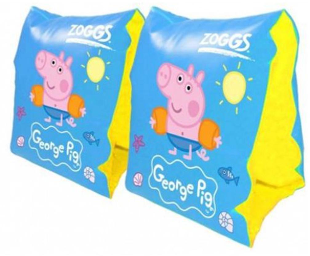 Zoggs piscine enfants brassard peppa pig pagaie aqua fun v for Brassards piscine