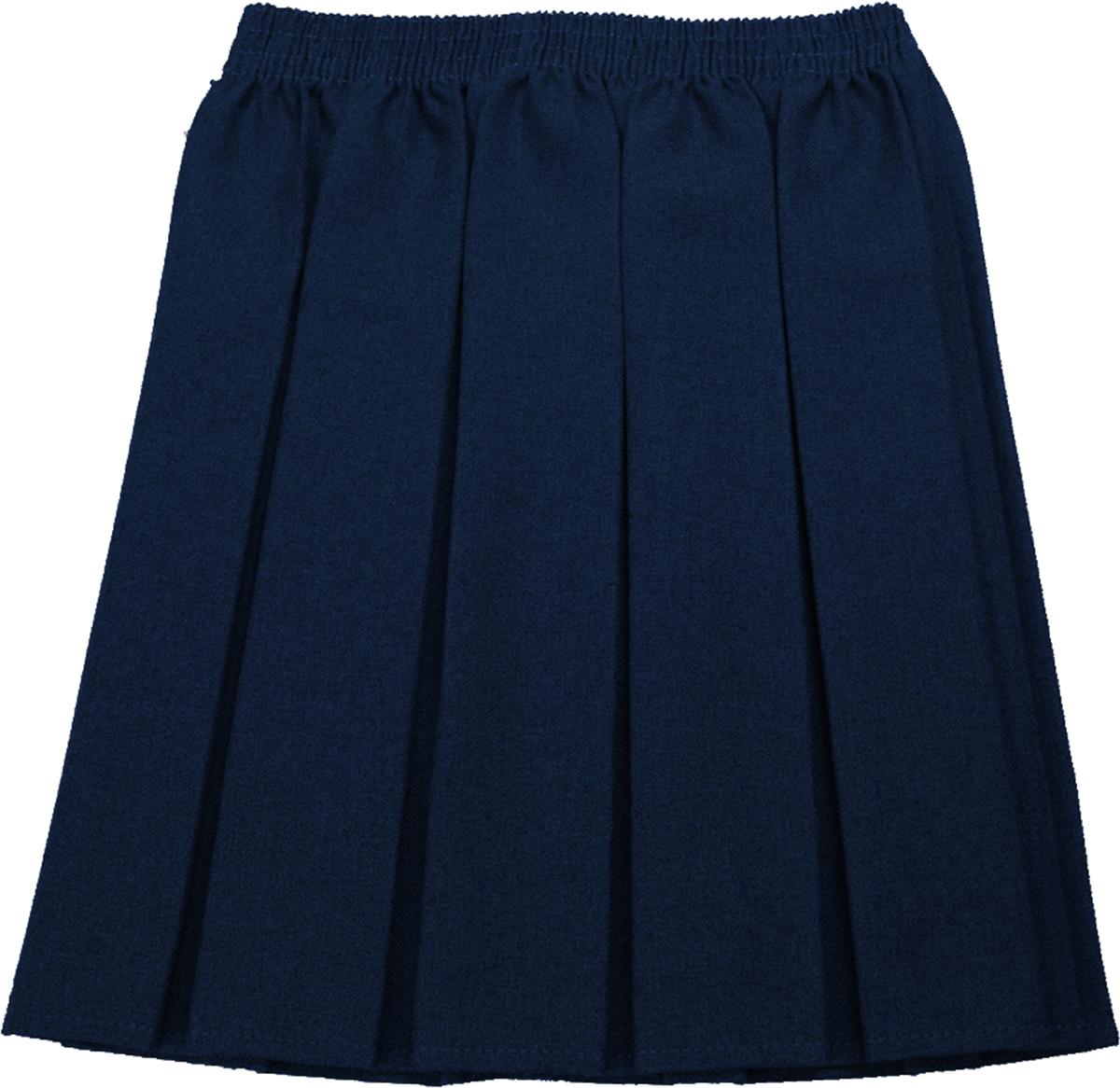 school skirt girls box pleat uniform all colours sizes