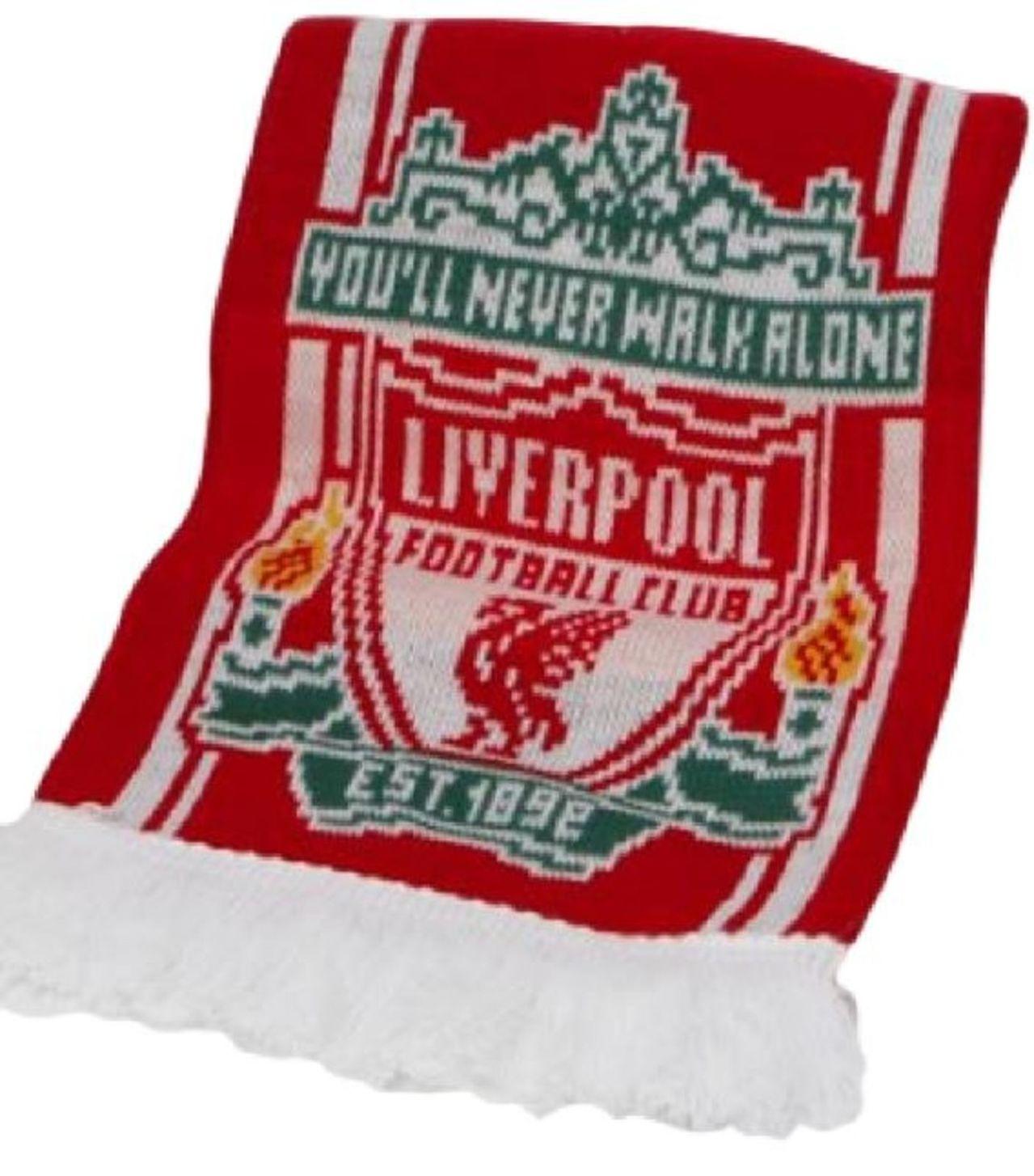 soccer memorabile official liverpool football club scarf