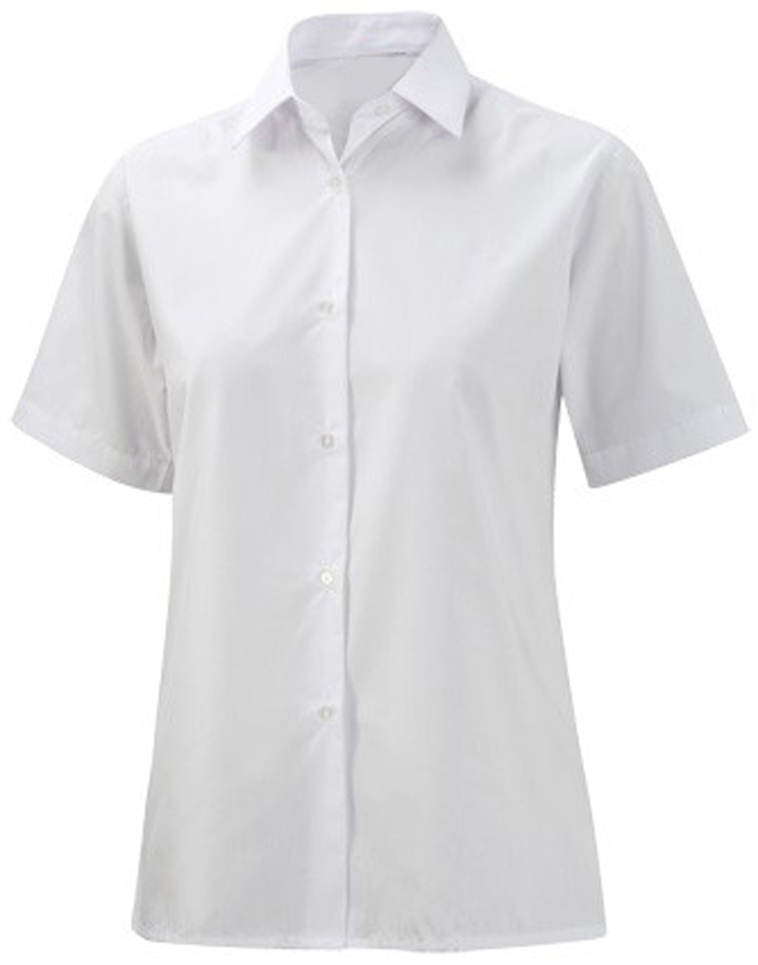 Short Sleeved Girls School Uniform Smart Blouse Only