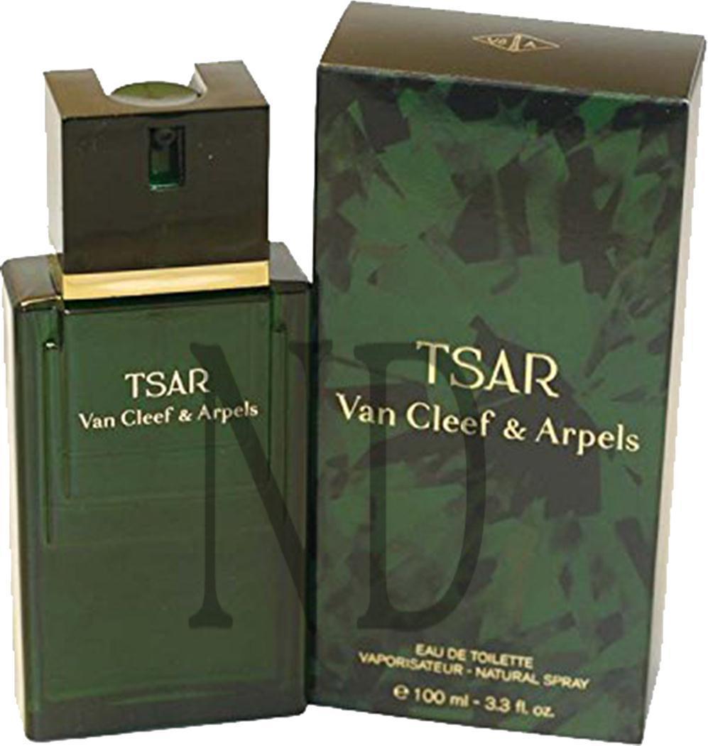 tsar eau de toilette spray cleef arpels for 100ml gift fragrance him ebay