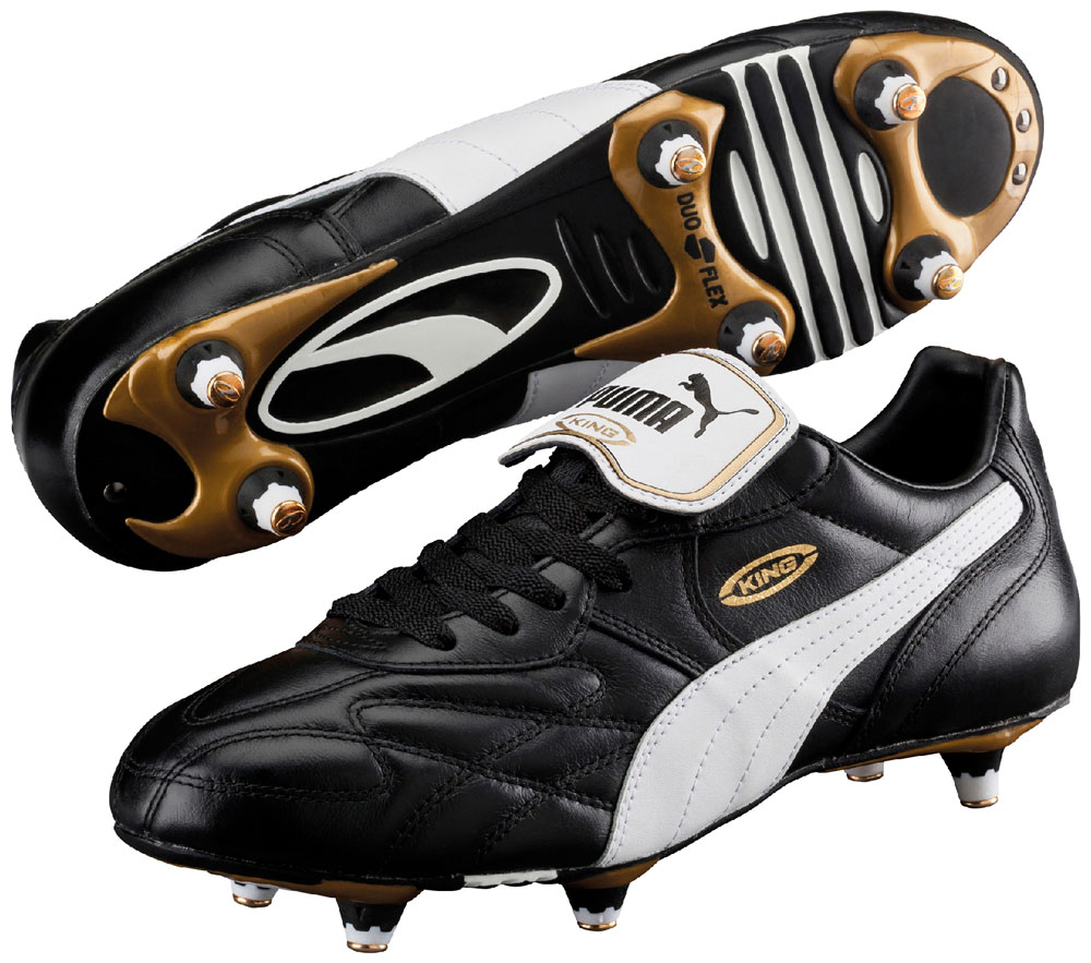 king pro sg football boots leather soccer shoes