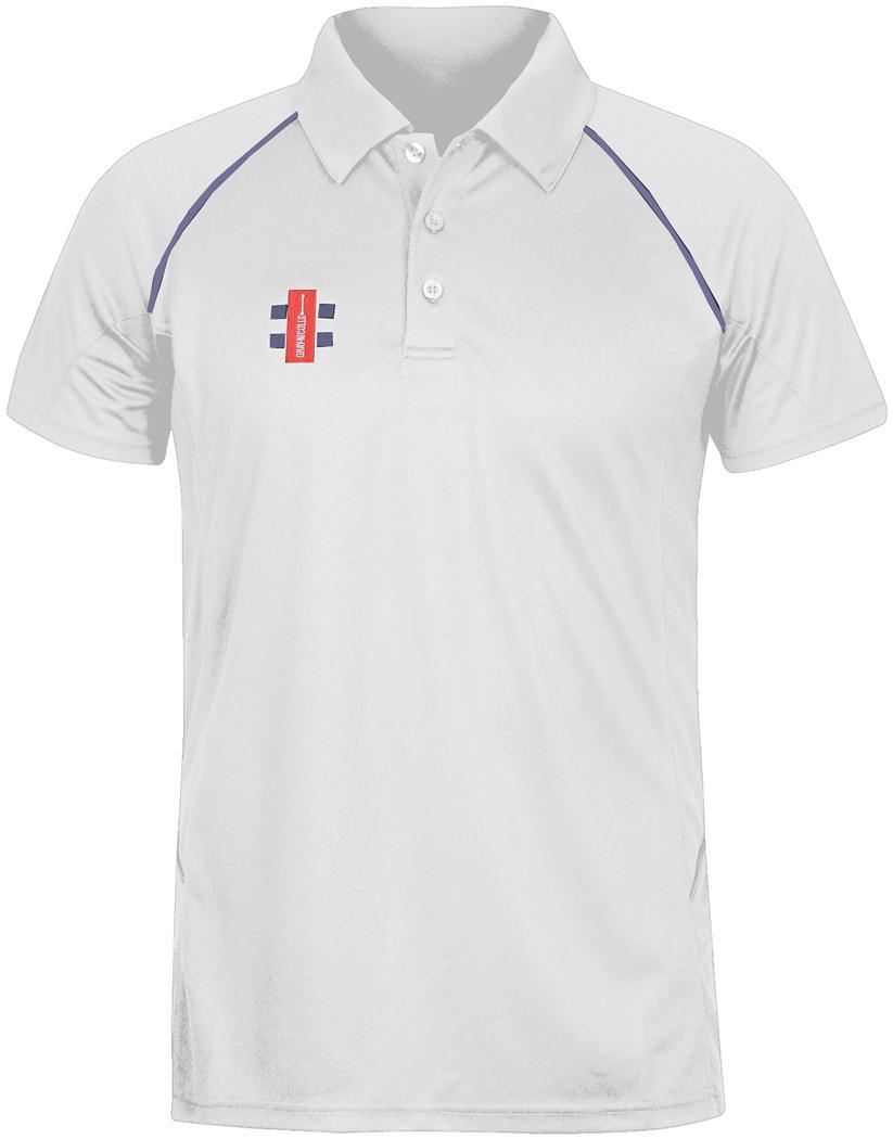Gray-Nicolls Matrix Polo Shirt Cricket Sport Short Sleeve Team Training Wear Top
