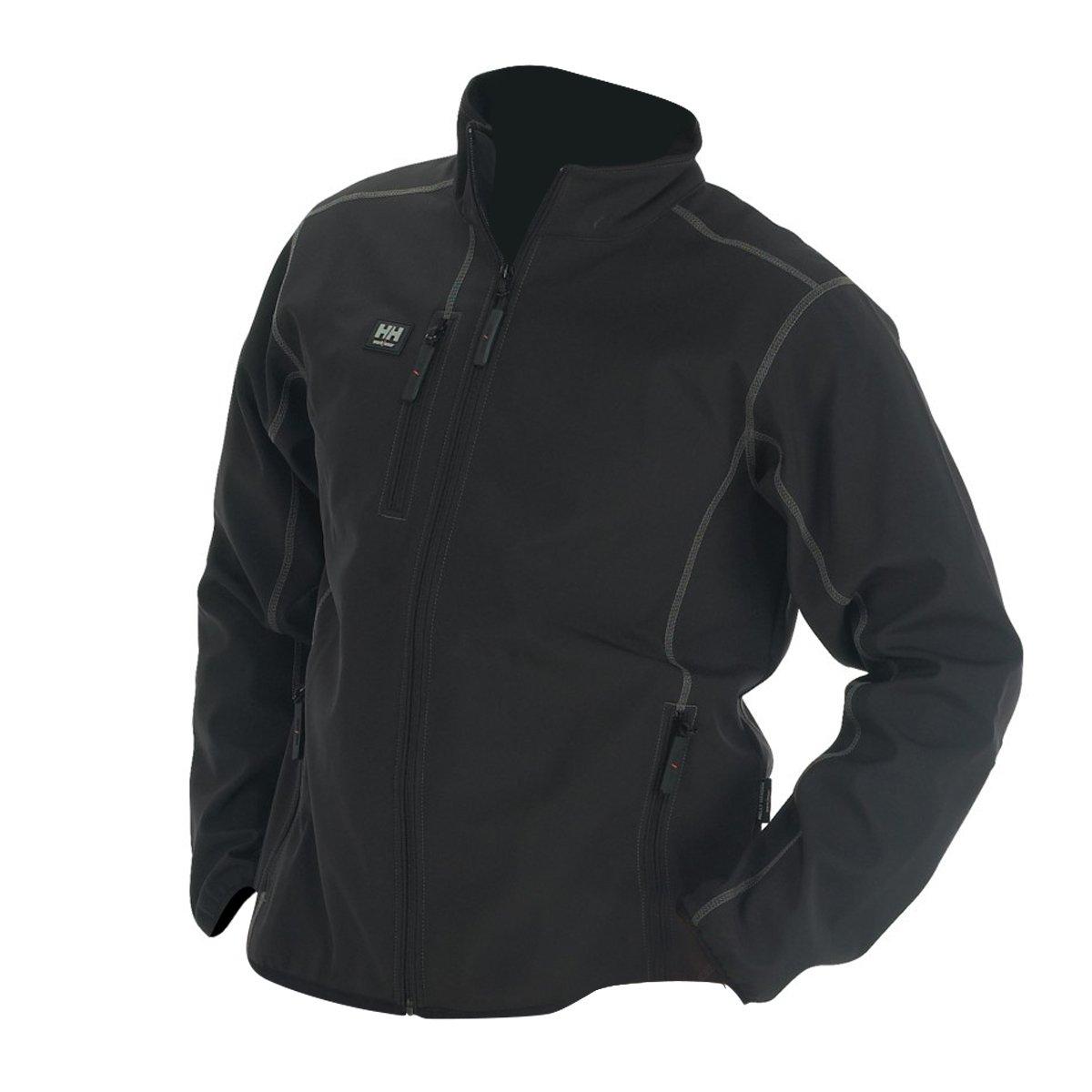 helly hansen 74002 mens workwear madrid softshell fleece jacket coat size s 2xl ebay. Black Bedroom Furniture Sets. Home Design Ideas