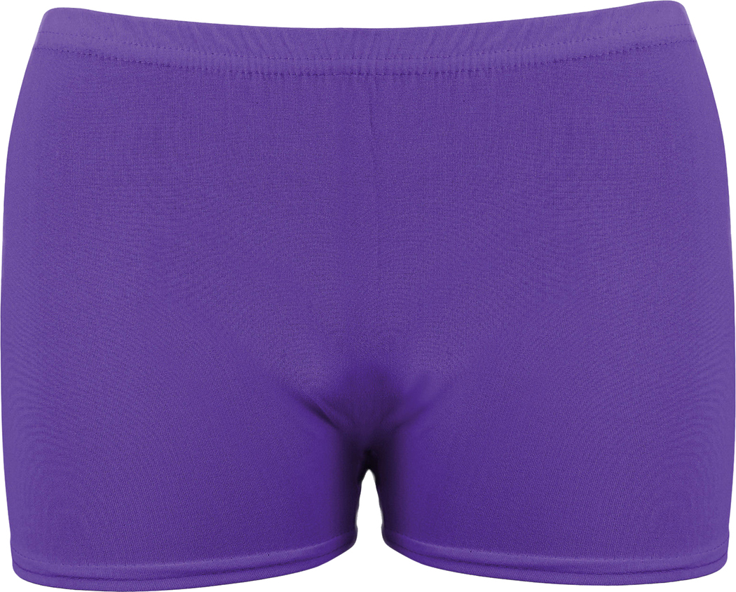 New Ladies Girls Neon Lycra Stretchy Hot Pants Shorts Dance Fancy Dress Party