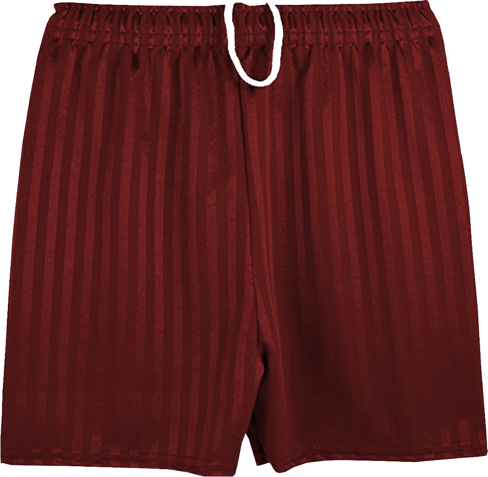 New Unisex Boys Girls School Shadow Stripe Sports School PE Shorts Football