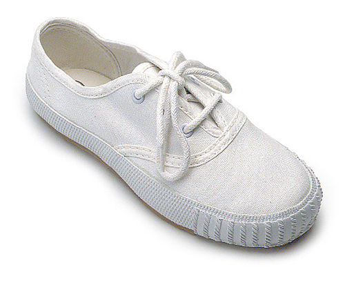 New-Canvas-Trainers-White-Lace-Plimsolls-Pumps-Shoes-Sizes-Jnr-Snr-1-13