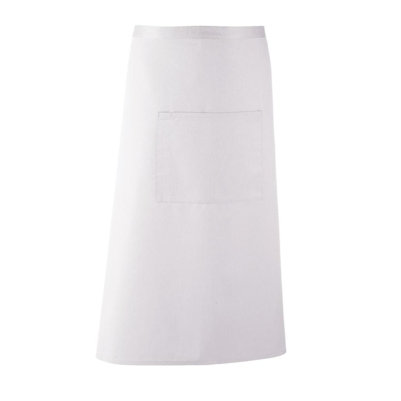 White apron cafe - Premier Colours Bar Apron Long Continental Style Bar