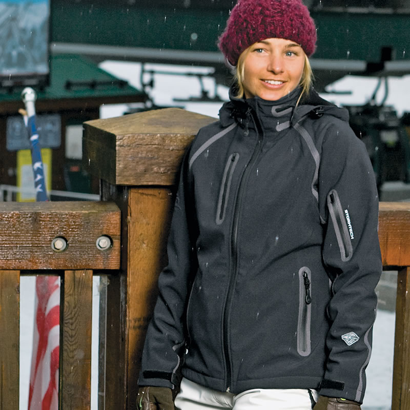 New Stormtech Waterproof Bonded Shell Womens Casual Winter Jackets