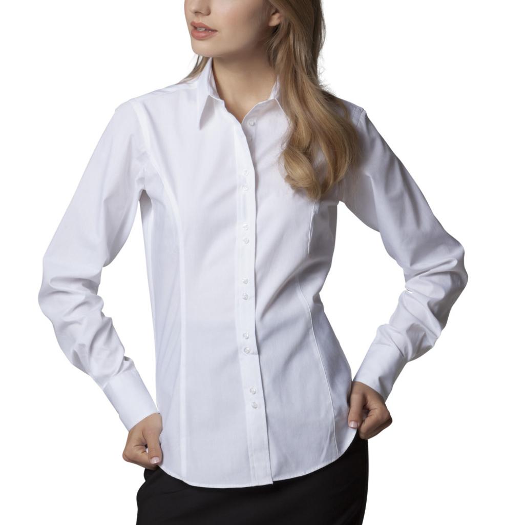 Kustom Kit Ladies City Long Sleeve Business Shirt Women