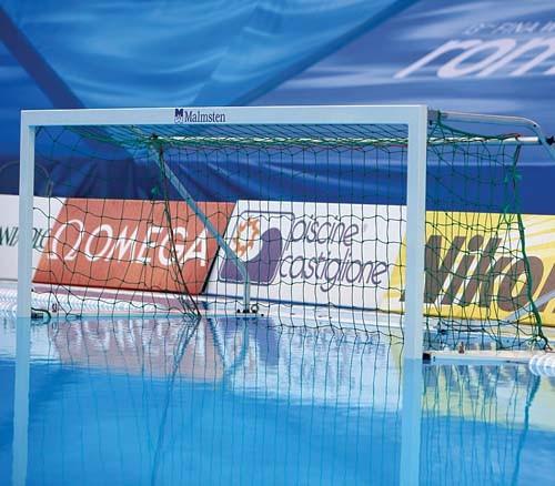 Haspo Swimming Pool Play Heavy Duty Aluminium Floating Water Polo Goal Net Only Ebay