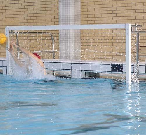 Haspo harrod standard water polo swimming pool playing - Swimming pool basketball hoop costco ...