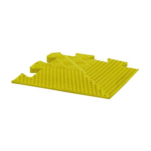 Rubber Floor Tile Bevel Edge Gym/Leisure Club Heavy Duty