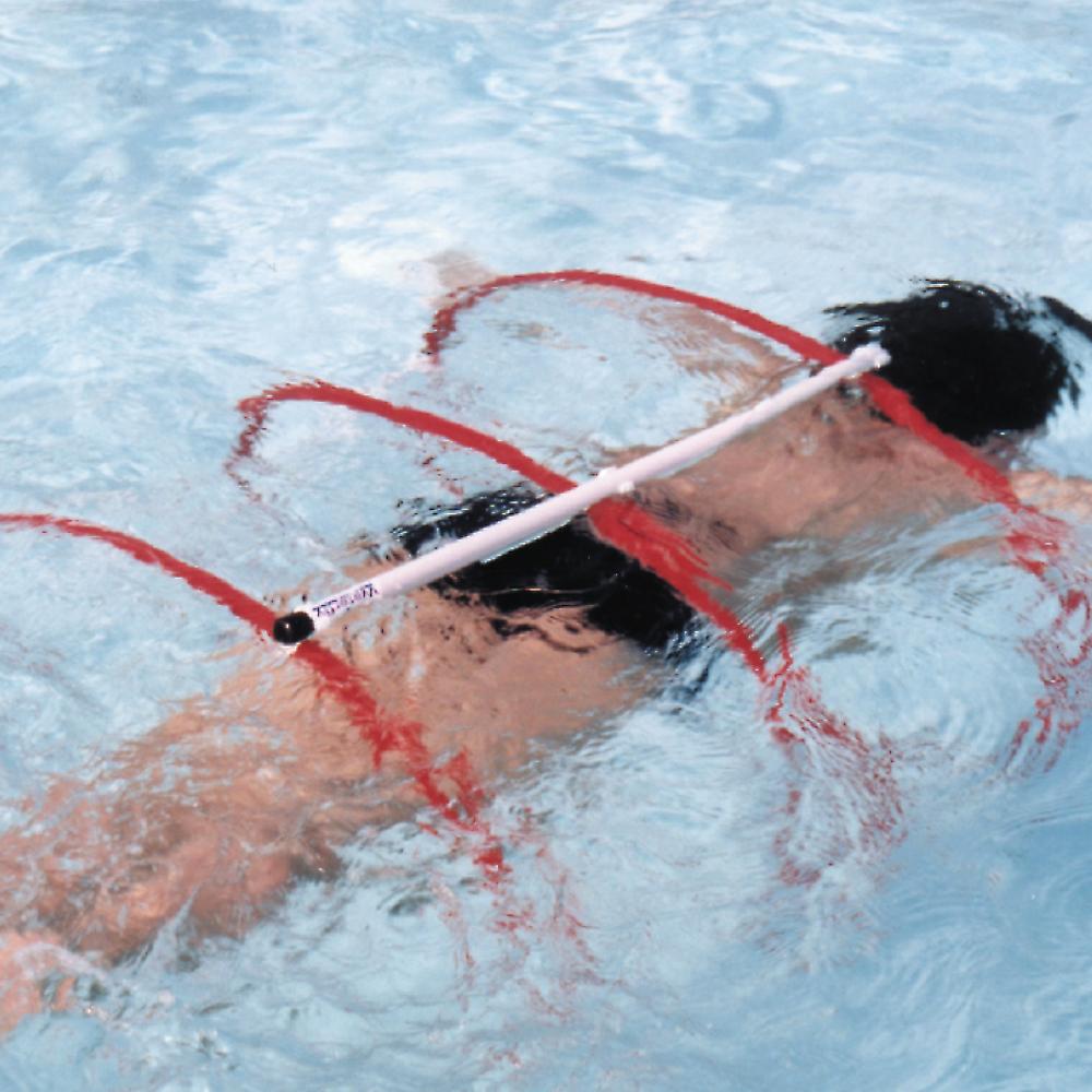 Swimming Pool Diving Games Learn To Swim Weighted Underwater Swim Hoop Red Set Ebay