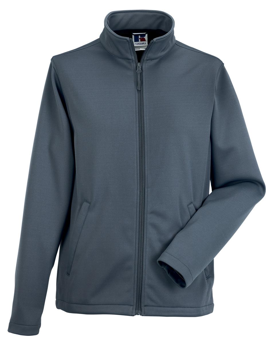 Russell R040M Men Smart Softshell Fleece Jacket Warm Full ...
