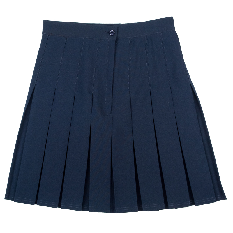 New School Uniform Girls Knife Pleat Plain Skirt Pack of 2 Size 7-16 years | eBay