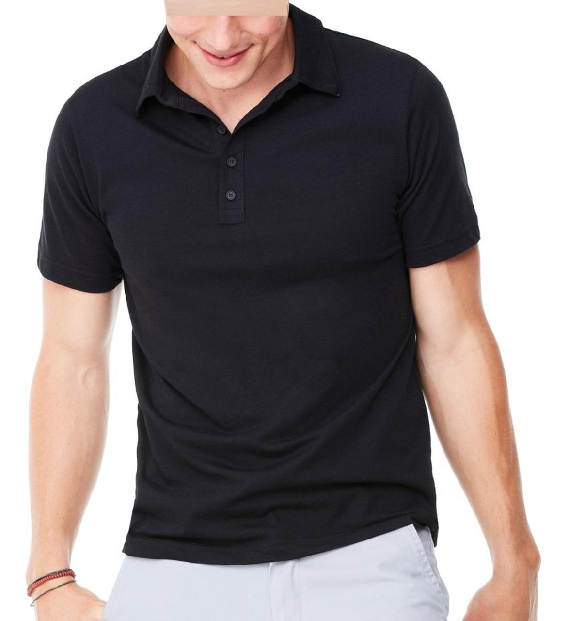 Bella canvas 3802 men 39 s jersey short sleeve 5 button polo for No button polo shirts