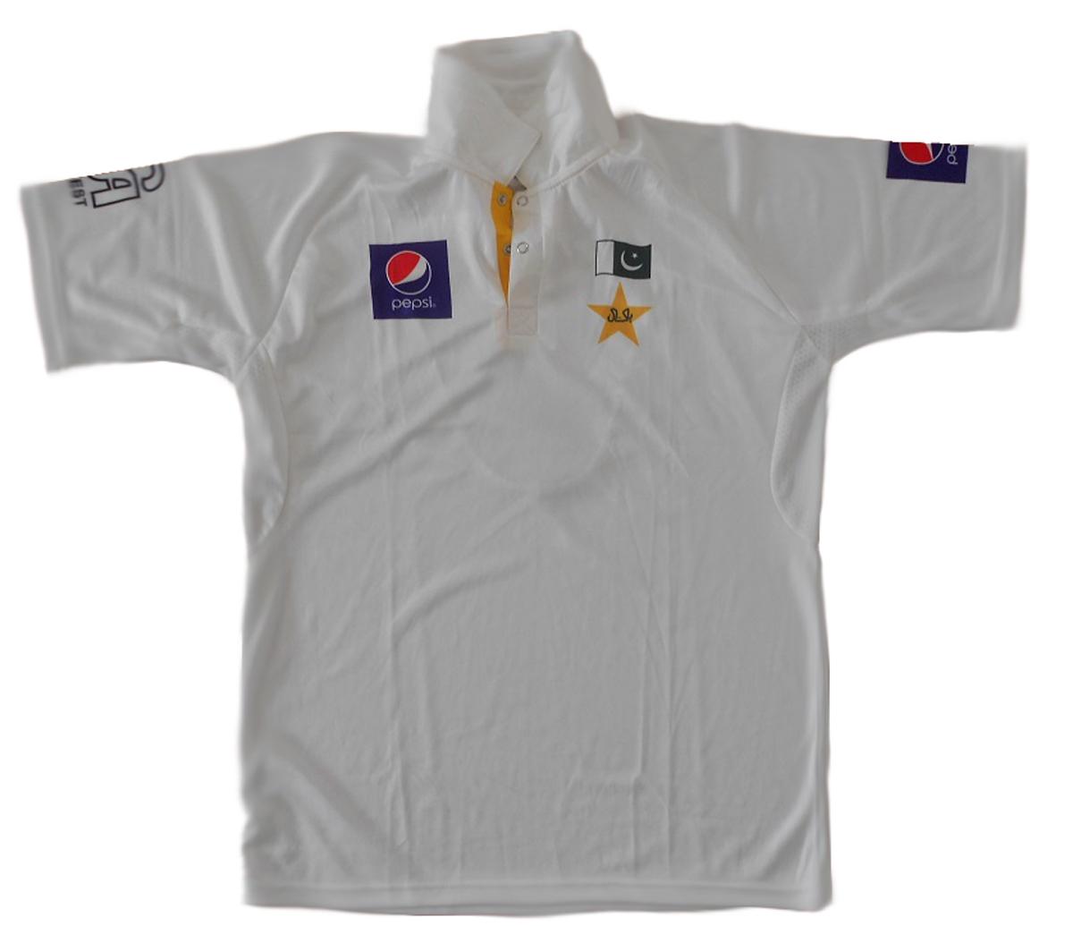 CA Official 2015 Sportswear Short Sleeves Pakistan Test