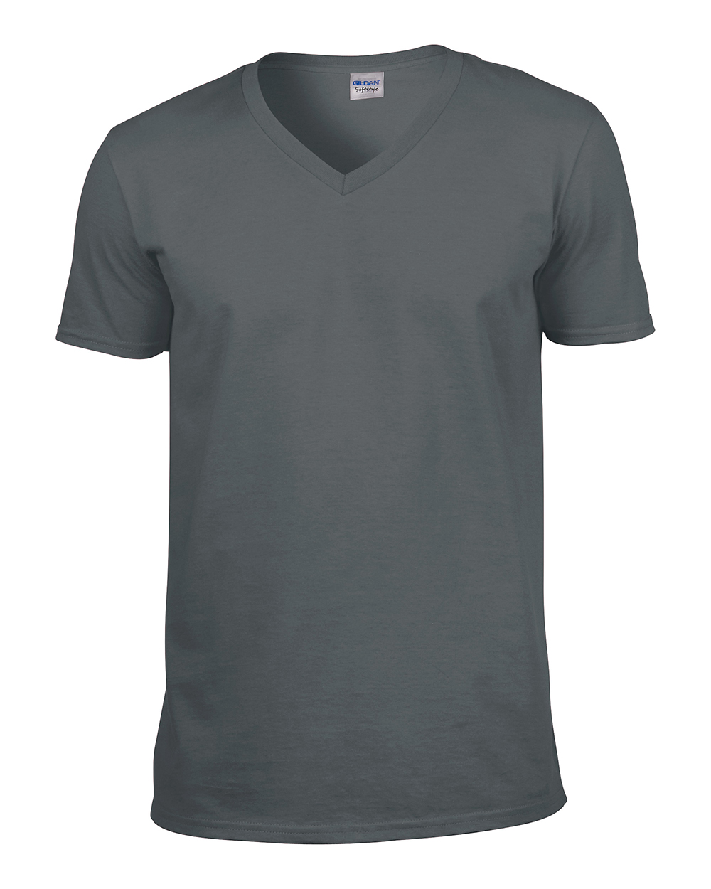 Gildan softstyle men 39 s v neck cotton t shirt short sleeve for Gildan v neck t shirts for men