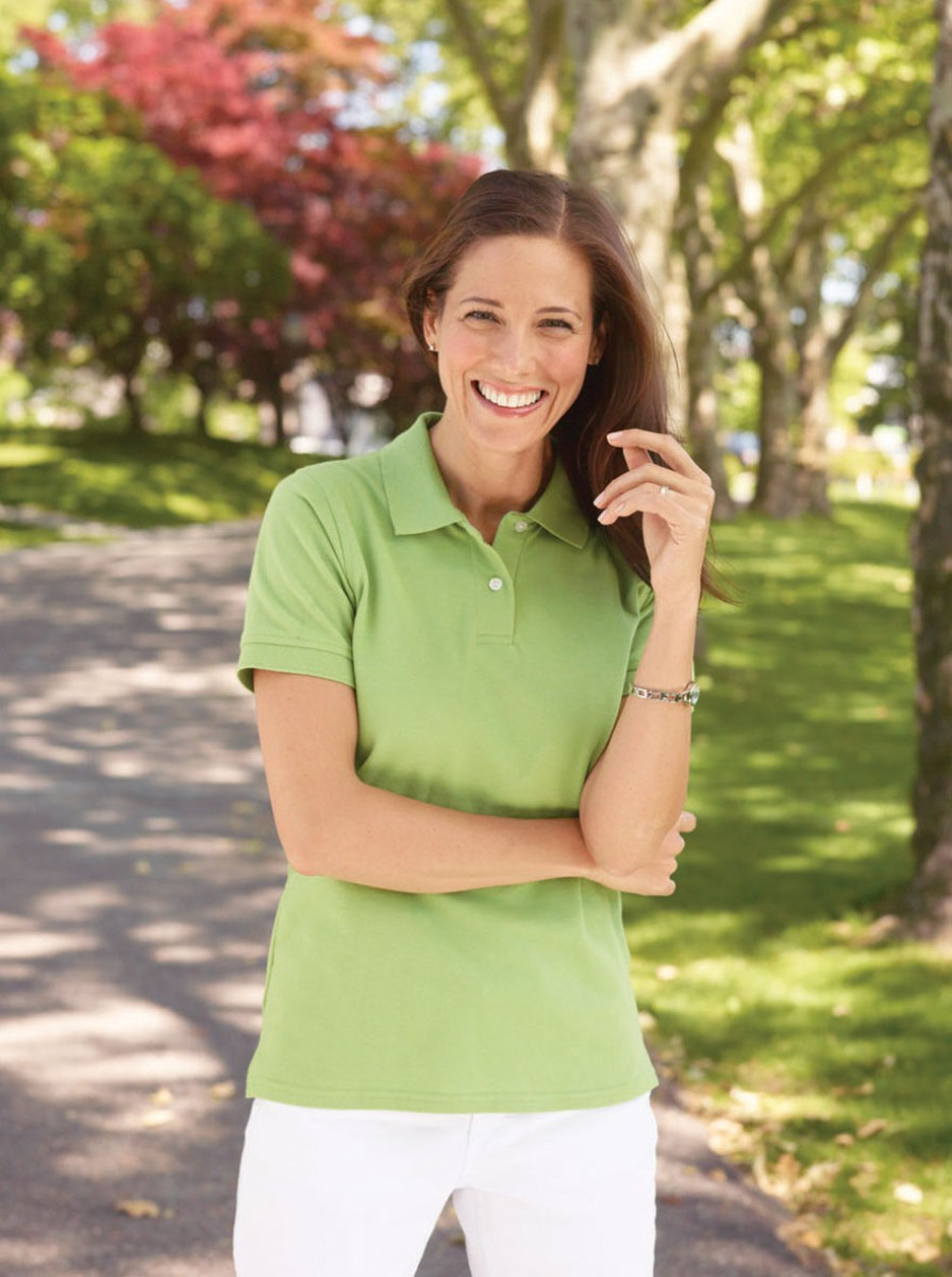 New-Gildan-Cotton-Ladies-Combed-Ring-Spun-Premium-Tailored-Female-Fit-Polo-Shirt