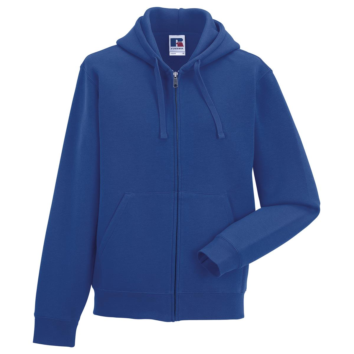 Russell Europe Mens Wear Warm Long Sleeves Authentic Zipped Hooded Sweat UK