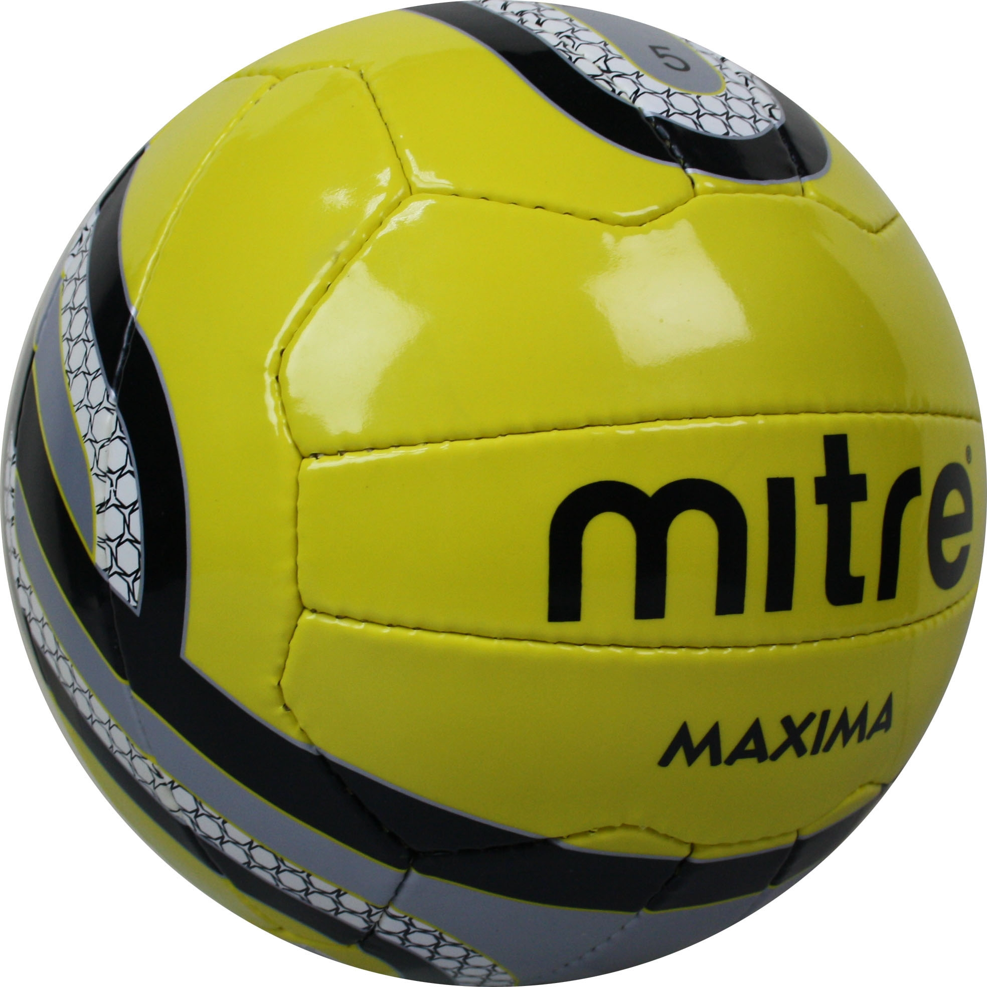 Brand-New-Mitre-Maxima-Football-Training-Official-Size-3-4-5-Blue-white-Ball