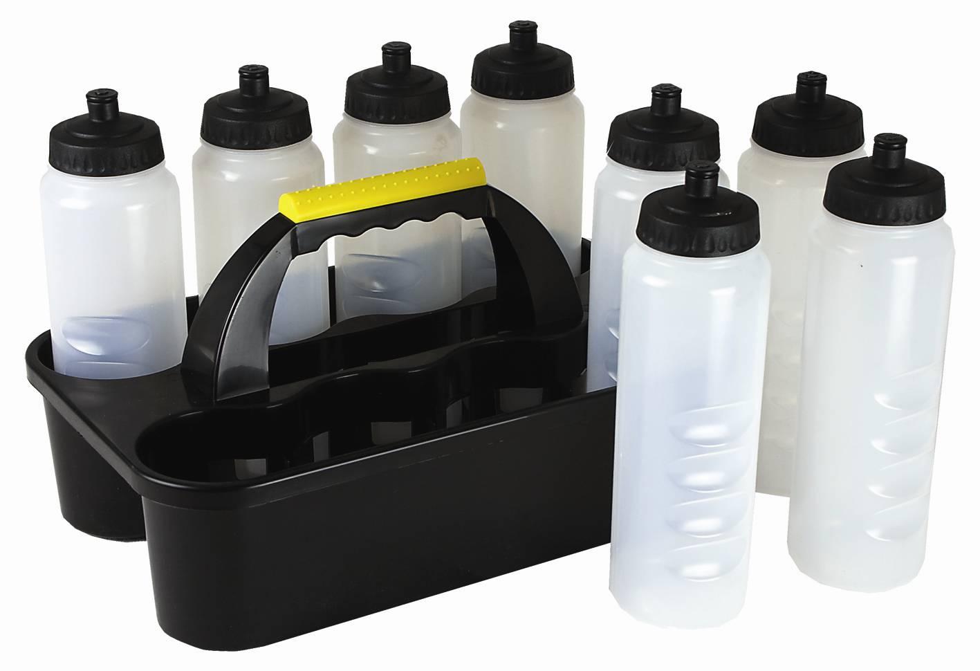 Plastic Sports Water Bottle Holder Football Team Drinks 8 ...