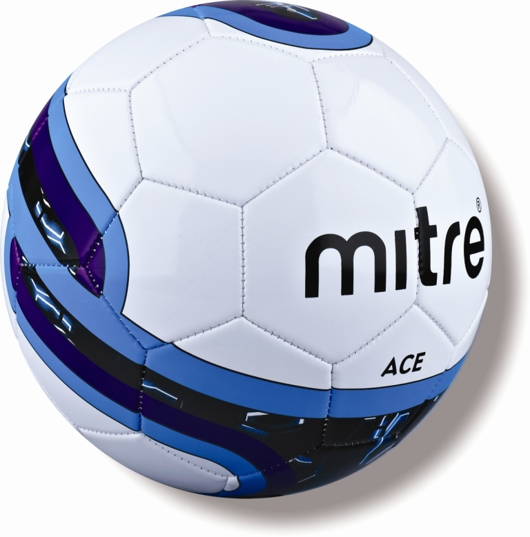 Brand-New-Mitre-Ace-32-Panel-Football-Practice-Training-Official-Size-5-4-3-Ball